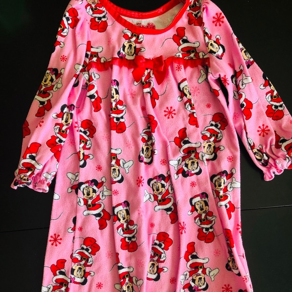 Yours Clothing Womens Plus Size Pink Minnie Mouse Nightdress Nightie Disney Pj
